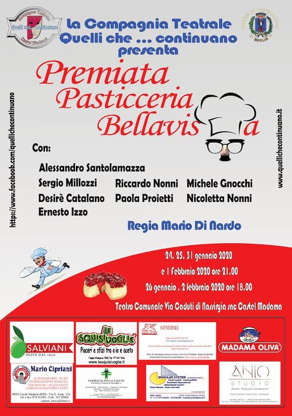 Premiata pasticceria Bellavista locandina